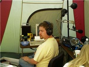 NW7US at Field Day, 2002