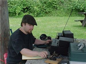 NW7US operating portable with school club, 2000