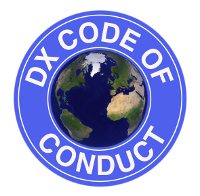 NW7US - I follow and promote the DX Code of Conduct - Please do the same.