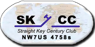 Tomas - Life Member of the Straight Key Century Club, Member Number 4758s