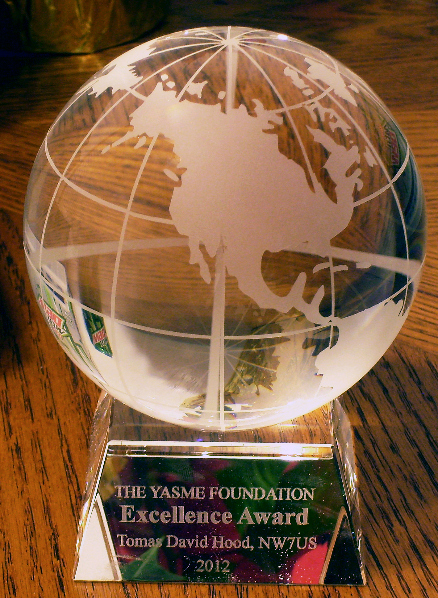 YasmeExcellenceAward2012