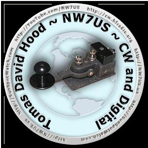 NW7US CW Logo / Badge
