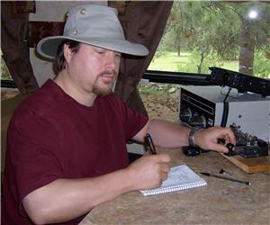 NW7US enjoys Morse code using CW on shortwave radio
